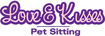 Love and Kisses Pet Sitting Logo