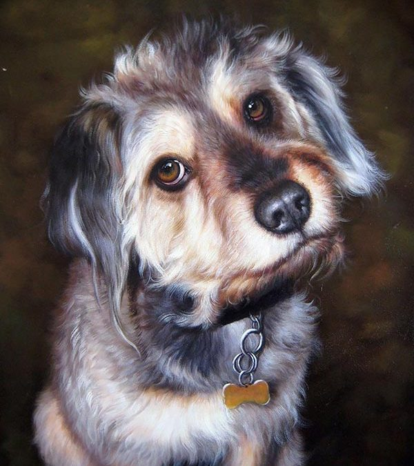 Give Dog Owners a Custom Canvas Painting of their Pets